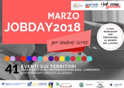 JOBDAY Studenti 2018