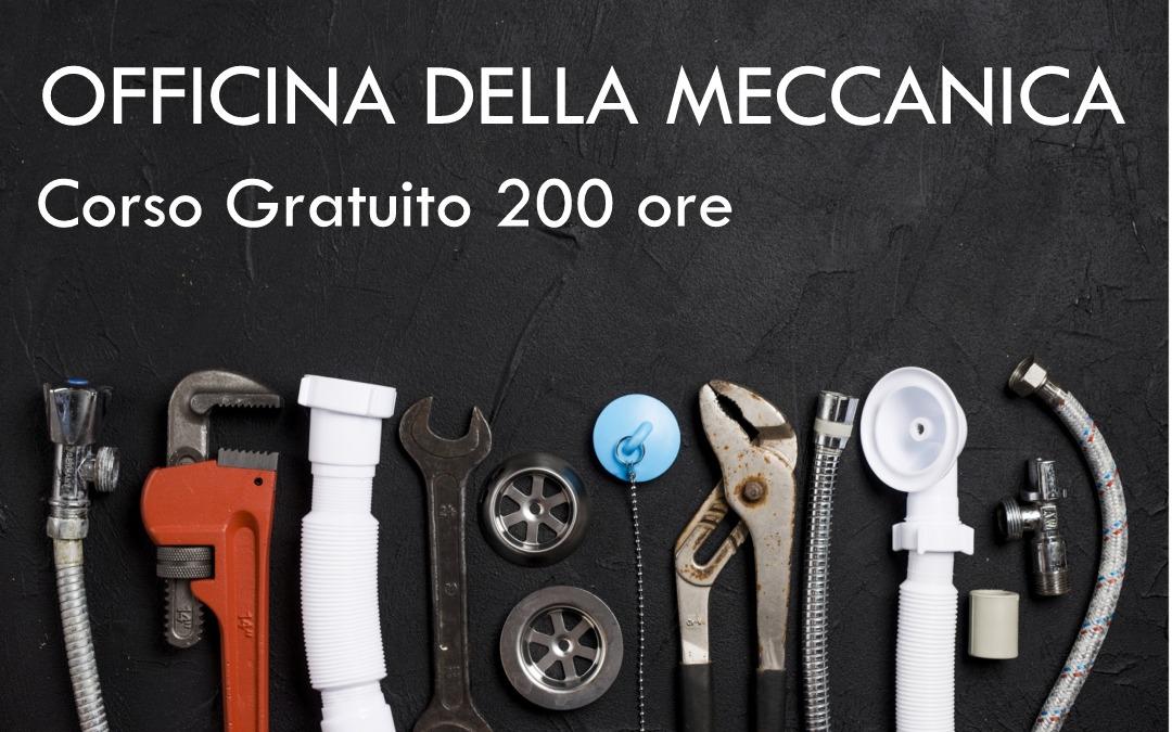 Corso gratuito – L'Officina Meccanica