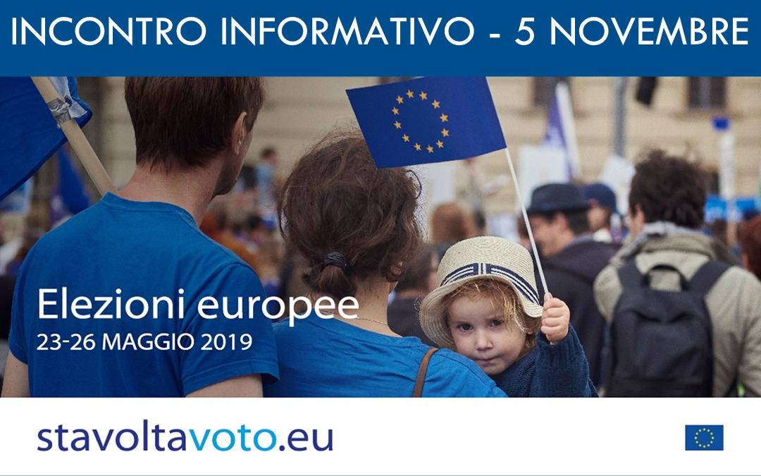 Incontro Informativo Elezioni Europee 2019