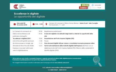 """""""Le opportunità del digitale"""" – corso gratuito"""