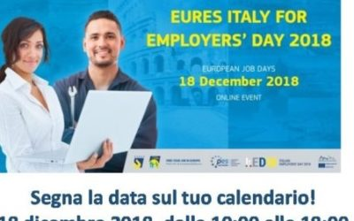 EURES ITALY for EMPLOYERS' DAY 2018 – fiera del lavoro onlin