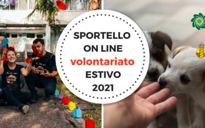 Sportello Volontariato Estivo 2021