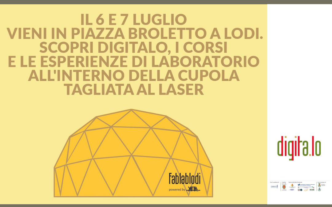 DIGITALO – WORKSHOP 6/7 LUGLIO