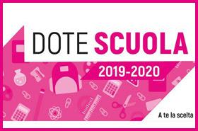 Riapertura Dote Scuola 2019/2020