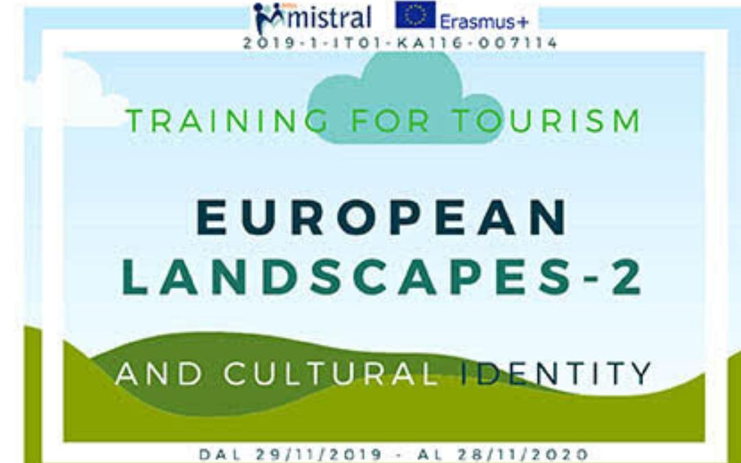 EUROPEAN LANDSCAPES – 2 -ERASMUS+