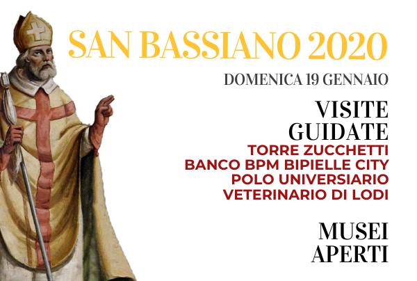 19 gennaio:Festa di San Bassiano, Patrono della città