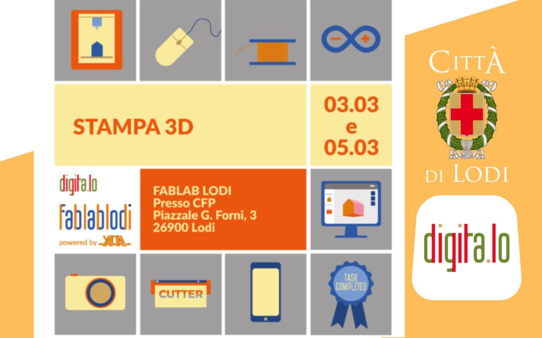 DIGITALO – Stampa 3D_marzo