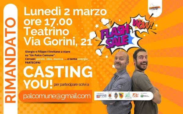CASTING YOU – AVVISO
