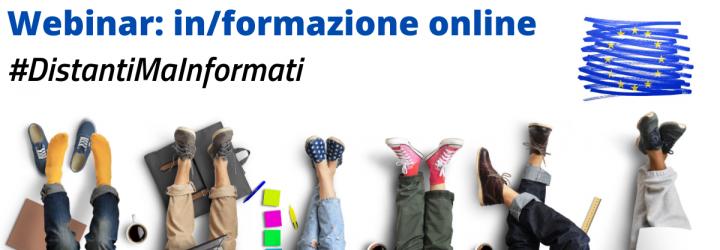 #DistantiMaInformati: seminari Eurodesk online