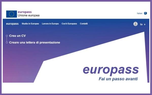 """""""Europass""""nuovo portale"""