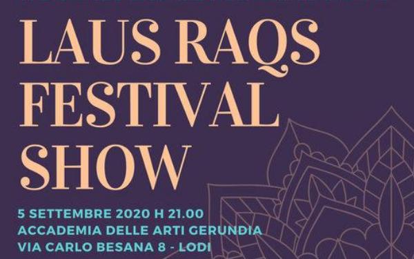 Laus Raqs Festival 2020 –  5 settembre