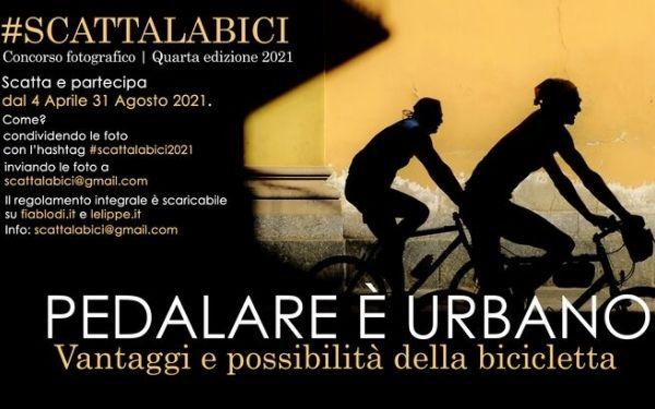 Partecipa al Concorso fotografico #Scattalabici2021